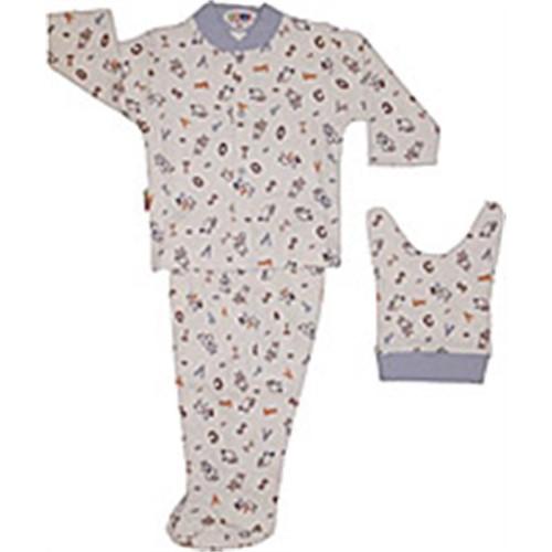 Sebi Bebe 052244 Biberonlu Pijama Takımı