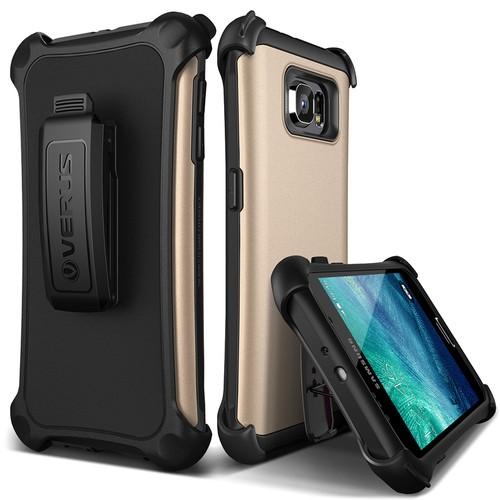 Verus Galaxy S6 Case Hard Drop Active Kılıf Shine Gold