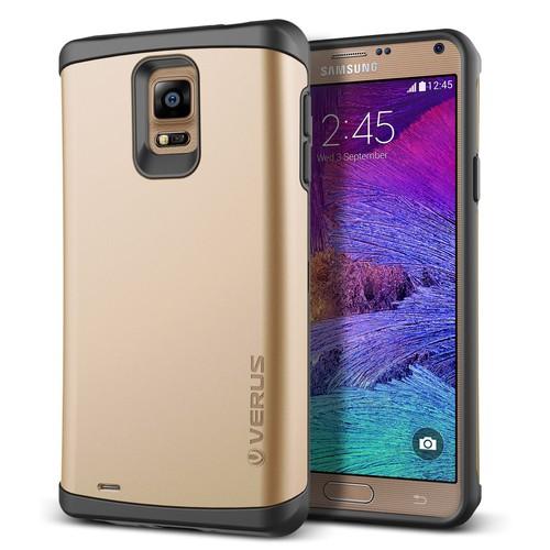 Verus Samsung Galaxy Note 4 Damda Veil Kılıf Shine Gold