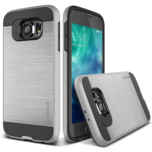 Verus Samsung Galaxy S6 Case Verge Kılıf Light Silver