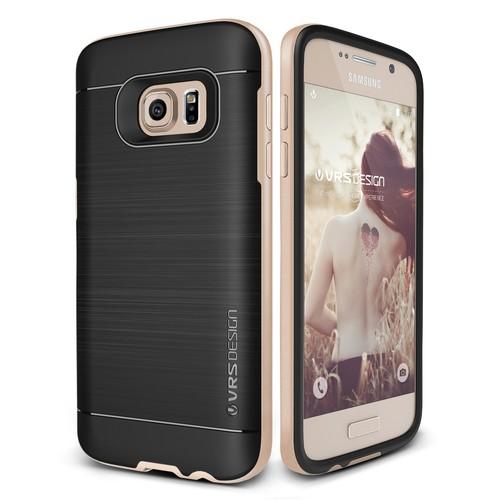 Verus Samsung Galaxy S7 High Pro Shield Kılıf Shine Gold