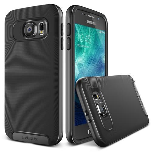 Verus Galaxy S6 Case Crucial Bumper Kılıf Steel Silver