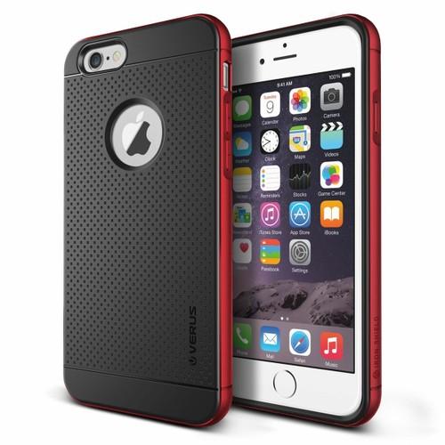 Verus Apple iPhone 6 Plus/6S Plus Iron Shield Kılıf Kiss Red