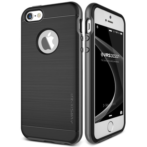 Verus iPhone SE High Pro Shield Series Kılıf Steel Silver