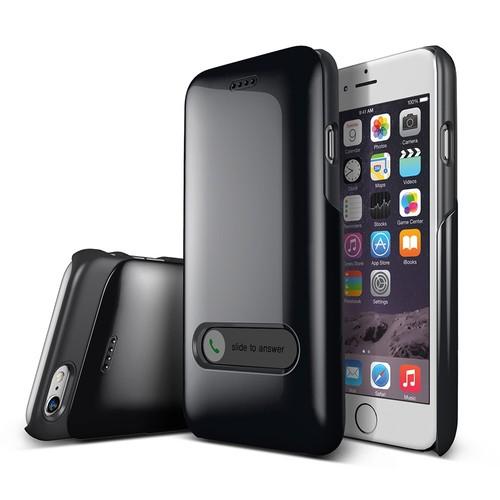 Verus iPhone 6/6S 4.7 Slim Hard Slide Kılıf Charcoal Black