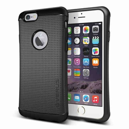 Verus iPhone 6/6S 4.7 Thor Kılıf HARD DROP Charcoal Black