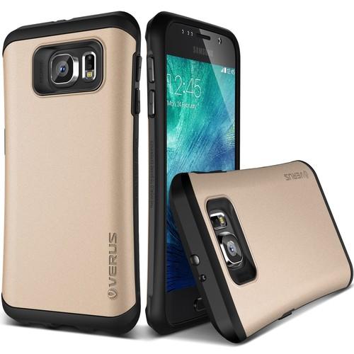 Verus Galaxy S6 Case Thor Kılıf HARD DROP Shine Gold
