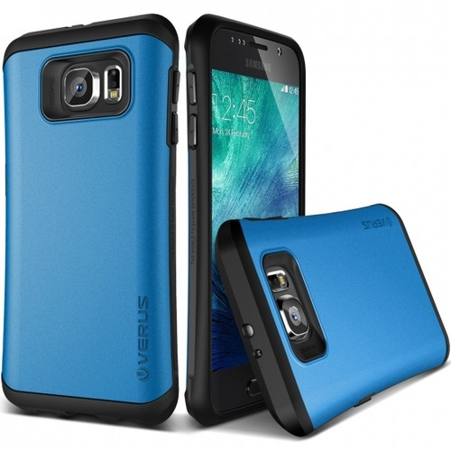 Verus Galaxy S6 Case Thor Kılıf HARD DROP Electric Blue