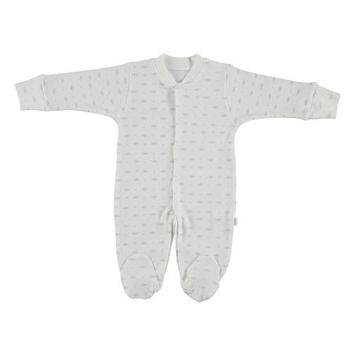 Bebetto T1089 Taç Bebek Penye Tulum