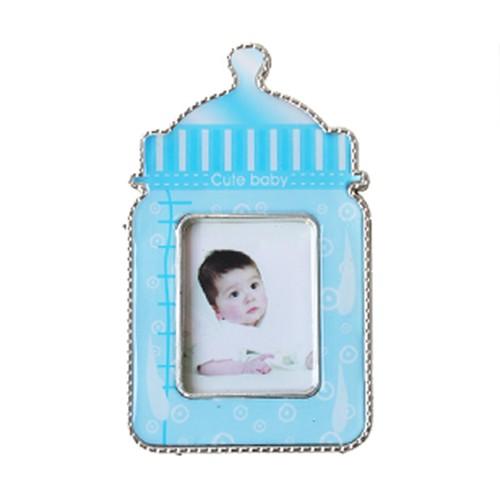 KullanAtMarket Mavi Biberon Bebek Çerçeve 1 Adet