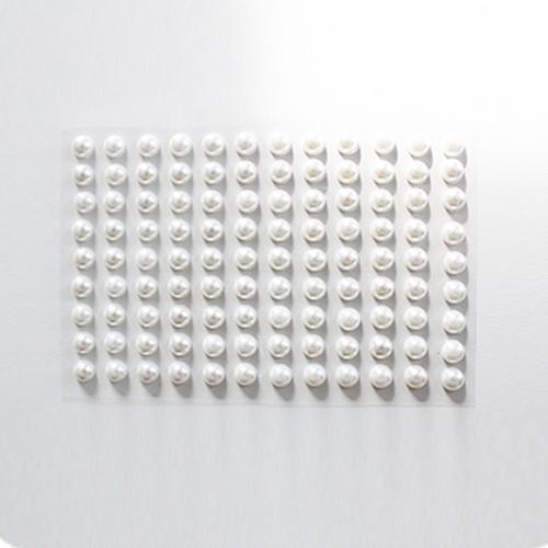 KullanAtMarket Beyaz İnci Sticker 500 Adet