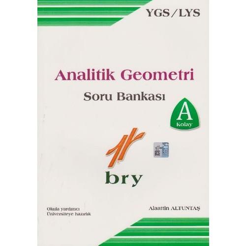 Birey Eğitim Yayınları Ygs-Lys Analitik Geometri Soru Bankası - Alaattin Altuntaş