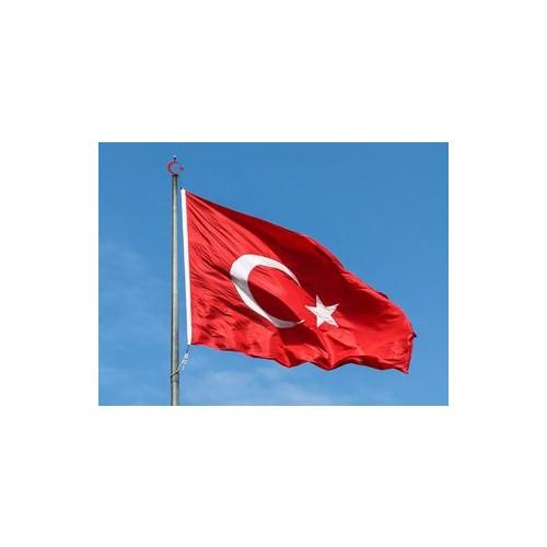 Türk Bayrağı 120x180 cm Alpaka Kumaş