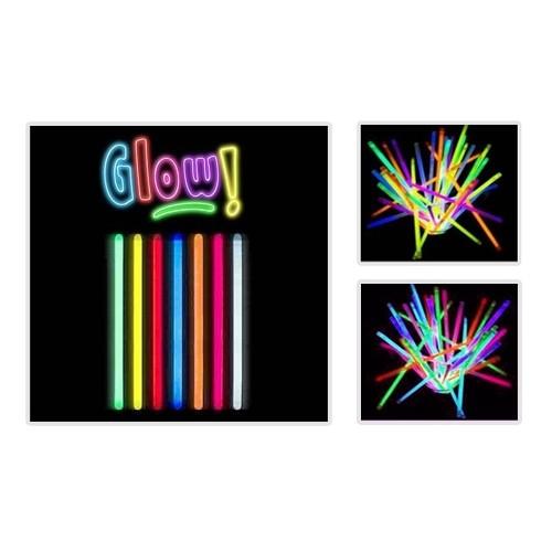 Toptancı Kapında Glow Stick 20Cm Fosforlu Kırılan Çubuk (10 Adet)