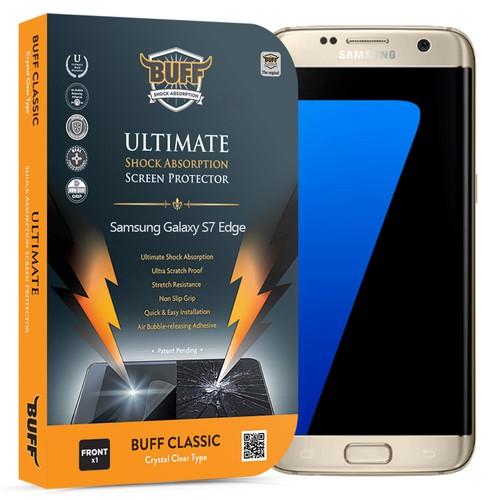 BUFF Samsung Galaxy S7 Edge Darbe Emici Ekran Koruyucu Film