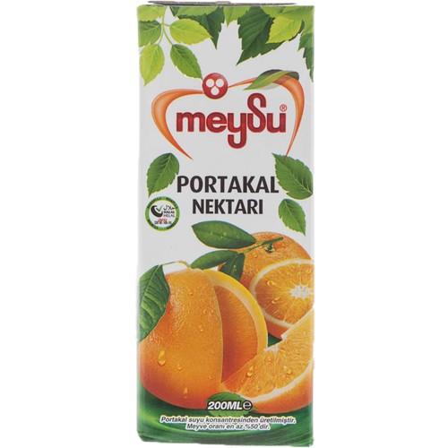 Meysu Portakal Nektarı (200 Ml x 27 Adet)