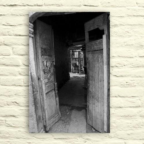 Fotocron Ahşap Kapı Tablo 24X34 Cm