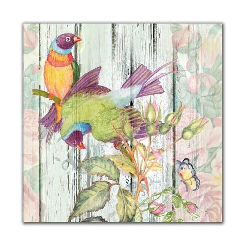 Dolce Home Kuşlar -3 Dekoratif Tablo Adgt102