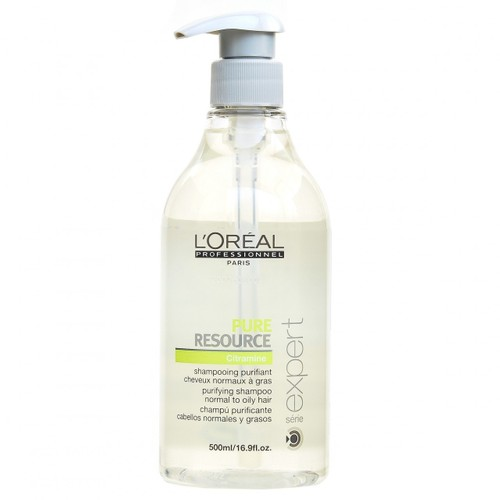 Loreal Serie Expert Pure Resource Şampuan 500 Ml