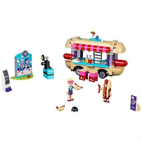 LEGO Friends 41129 Lunapark Sosisli Sandviç Minibüsü