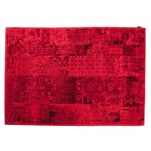 My Home My Home Patchwork Kırmızı Halı | 80x200 cm