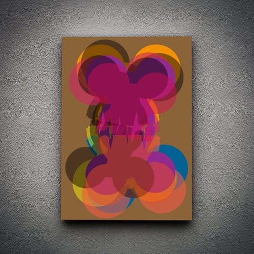 Zoodesignstudio Kanvas Tablo -4 - 100X150