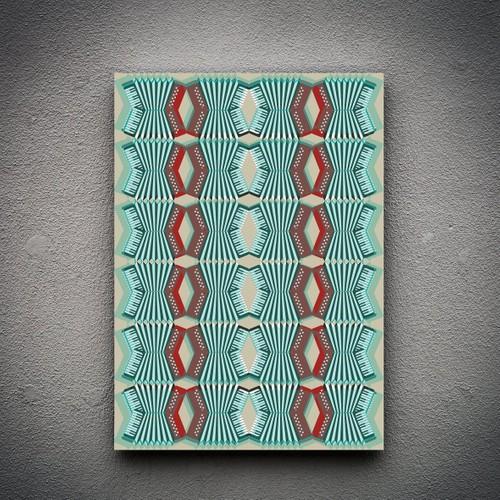 Zoodesignstudio Kanvas Tablo -23 - 100X150
