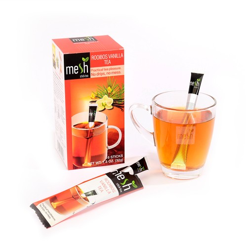 Mesh Stick Uzun Roybos Vanilya Çayı 16'lı