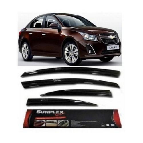 4 Lü Chevrolet Cruze Ön-Arka Sport Style Sunplex Cam Rüzgarlığı