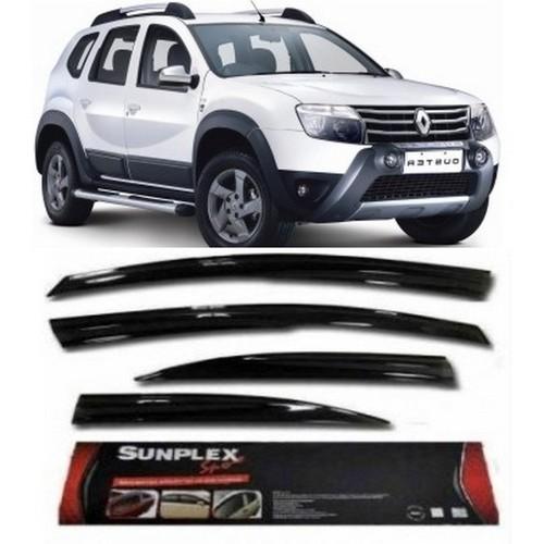 4 Lü Dacia Duster Sport Style Sunplex Cam Rüzgarlığı