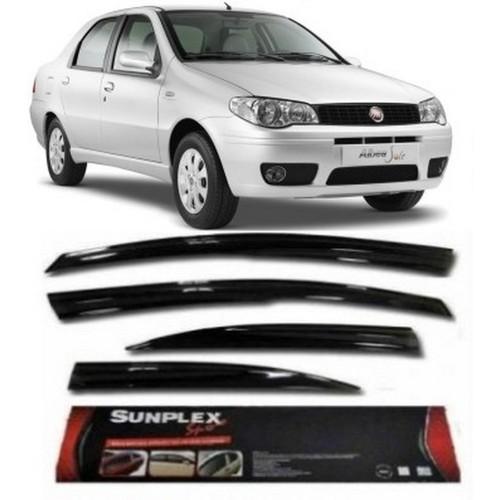 4 Lü Fiat Albea Ön-Arka Sport Style Sunplex Cam Rüzgarlığı