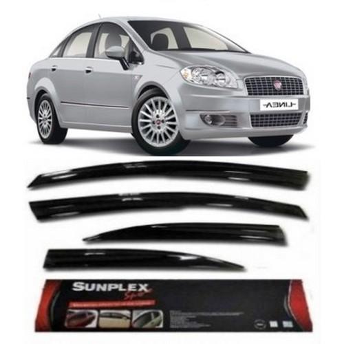 4 Lü Fiat Linea Ön-Arka Sport Style Sunplex Cam Rüzgarlığı