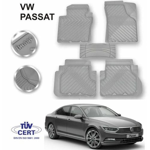 Paspas Gri Lüx Kauçuk Volkswagen Passat Takım