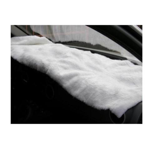 Peluş Örtü Minübüs Ve Kamyonet Beyaz 220Cmx40Cm