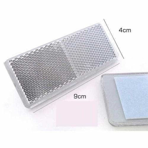 Reflektör Küçük Dikdörtgen Beyaz 4Cm-9Cm