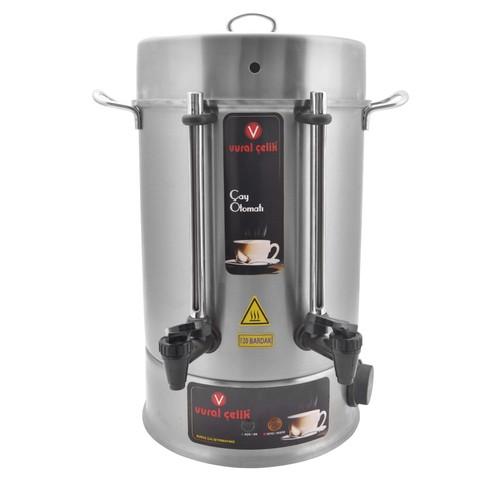 Vural Çelik çay makinesi 160 bardak