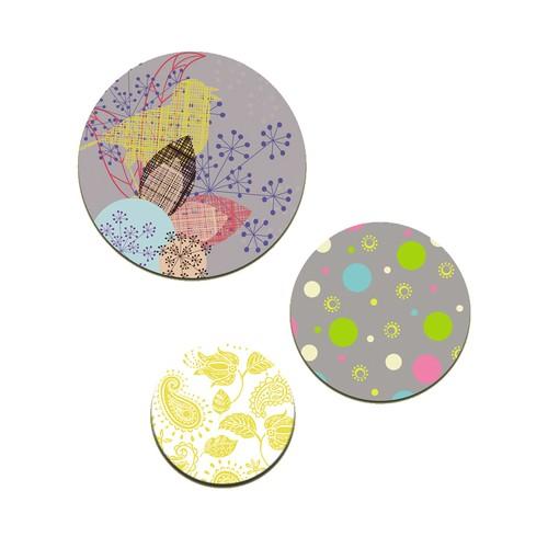 Dolce Home Wall Bubble Sarı Kuş-2 Wb1y11913s13