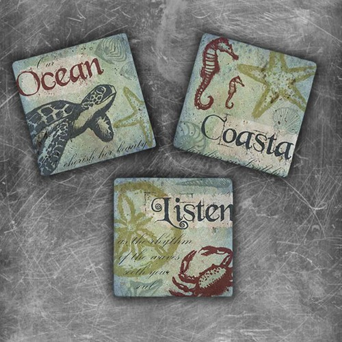Oscar Stone Coastal Magnet