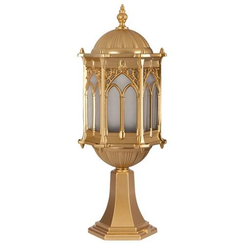 Şanlı Aliminyum Altın Yıldız Boyalı Osmanlı Fener Set Üstü