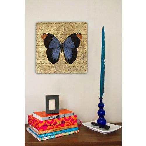 Oscar Stone Art Butterfly Taş Tablo