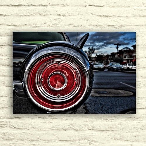 Fotocron Kırmızı Far Tablo 24X34 Cm