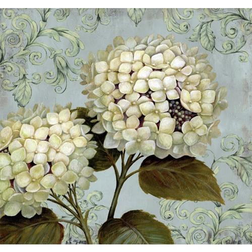 Fotocron Beyaz Sümbüller Tablo