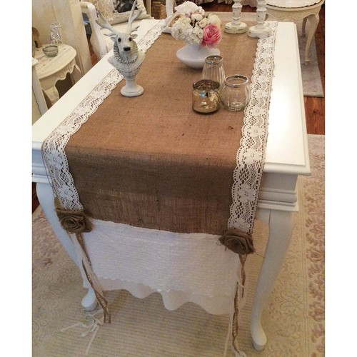 Victorian Rose Boutique French Cottage Runner