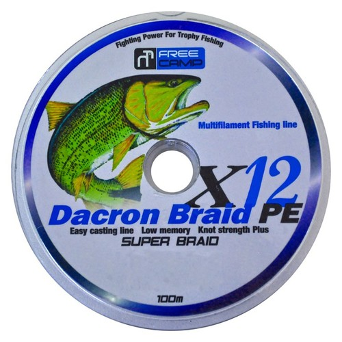Freecamp Dakron 12 Braid Misina 0.60Mm 100Mt