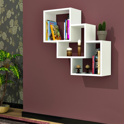 hepsiburada-home-three-box-duvar-raf-beyaz