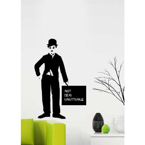 Charlie Chaplinyaz-Sil Sticker