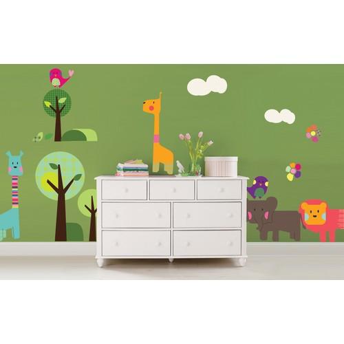 Dekorjinal Orman Çocuk Sticker - Ncc20