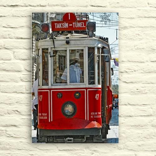 Fotocron Taksim Tünel -6 Tablo 24X34 Cm