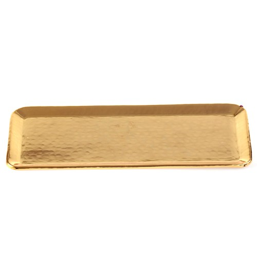 Miss Gaya Altın Renkli Tepsi