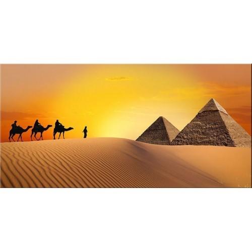 Pırıltı Vizyon Piramitler Tablo